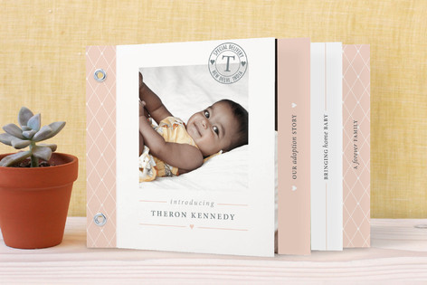 The Most Special Delivery Birth Announcement Minibook™ Cards