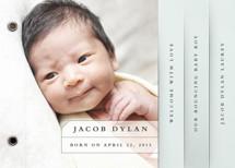 Strongest Bond Birth Announcement Minibooks By Stacey Meacham