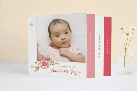 Sweet Somethings Birth Announcement Minibook™ Cards