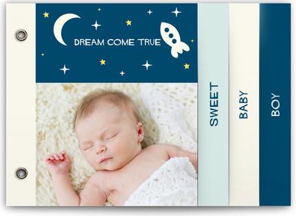 Dream Come True Birth Announcement Minibooks