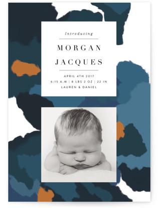 Parfum Birth Announcement Petite Cards