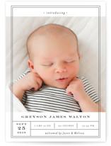 Birth Label by Shirley Lin Schneider