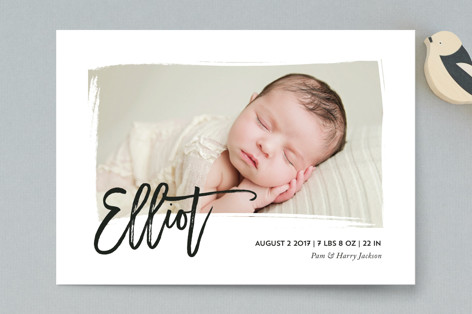 Gallery Birth Announcement Petite Cards