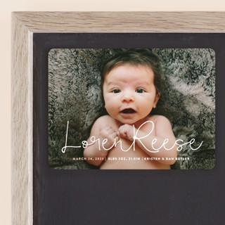 Signature Birth Announcement Magnets