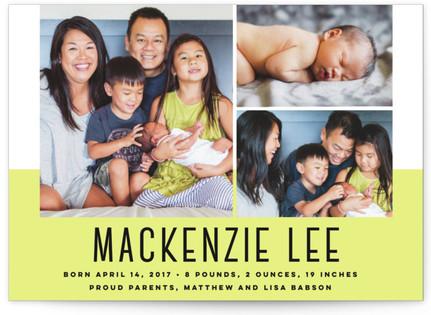 Maverick Birth Announcement Postcards