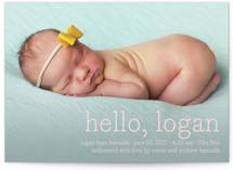 Hello Baby Birth Announcement Postcards