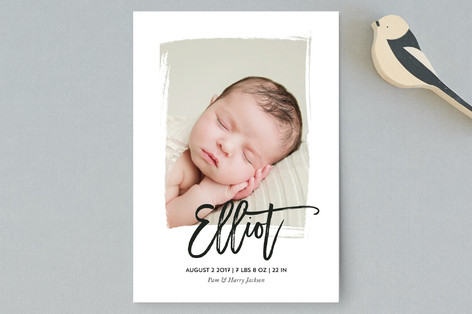 Gallery Birth Announcement Postcards
