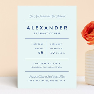 Collected Bris And Baby Naming Invitations By Genn Minted