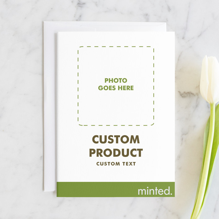 """""""Portrait"""" - Bridesmaid Cards in Charcoal by Minted Custom."""