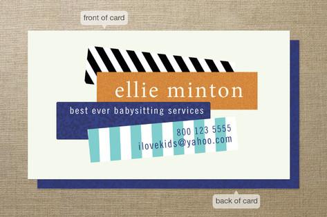 Bar Graph Business Cards