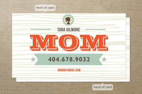 Im a mom business cards by chica design minted im a mom business cards colourmoves