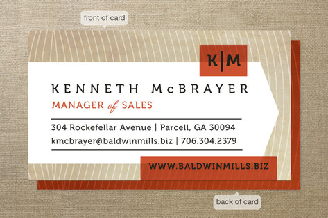 Head Honcho Business Cards