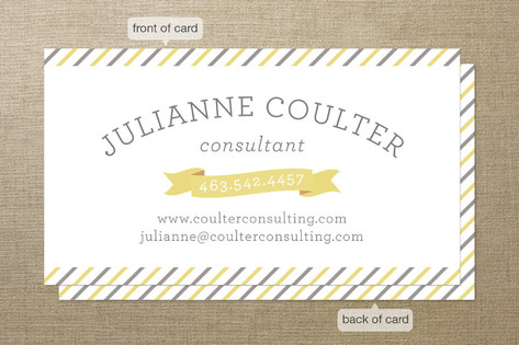 Cheerful Business Cards