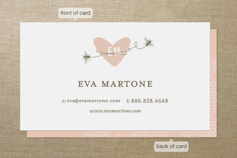 Sweet Bees Business Cards