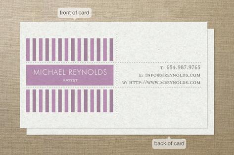 Modern Art Business Cards