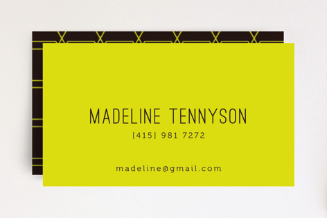 Neon Business Cards