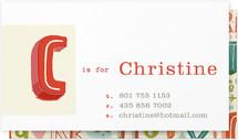 Letter Card