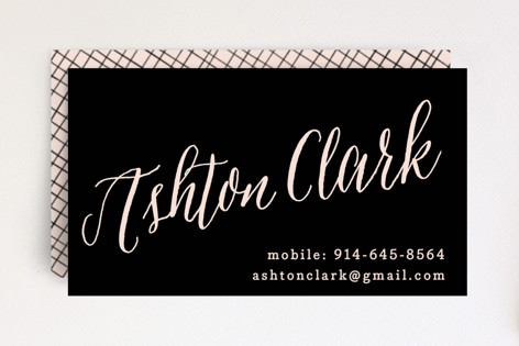 Name To Remember Business Cards
