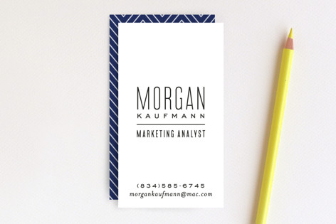 Skinny type business cards by hooray creative minted skinny type business cards colourmoves
