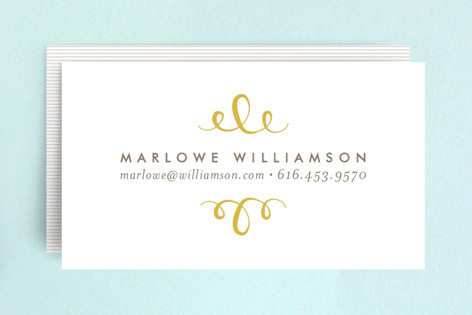 The Most Simple Business Cards