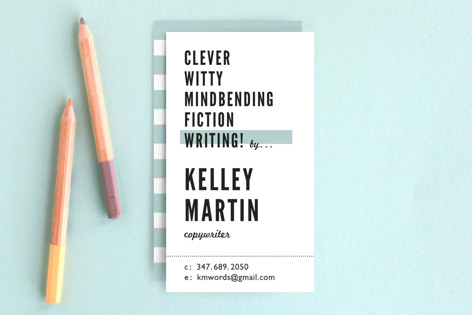 Headliner Business Cards