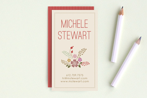 Blooming Flowers Business Cards