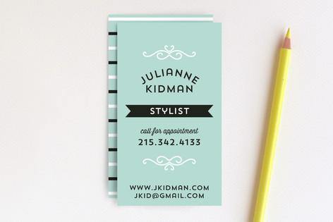 Fashion Forward Business Cards