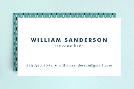 Bold and Basic Business Cards by Alethea and Ruth | Minted