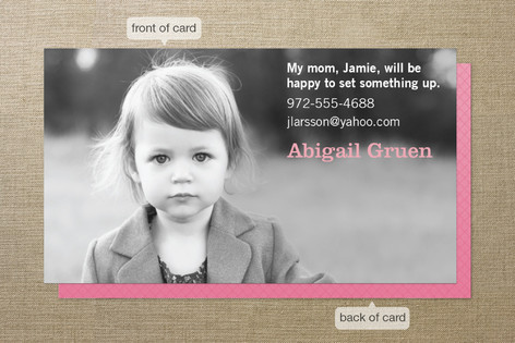 Call My People Business Cards