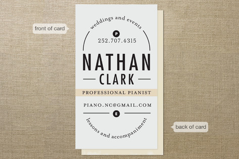 Classical composition business cards by alethea an minted classical composition business cards colourmoves