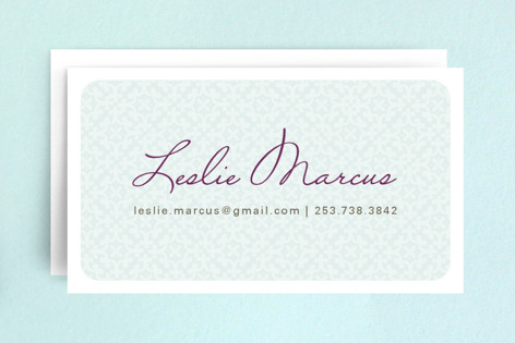 Hello patterns business cards by alethea and ruth minted hello patterns business cards colourmoves