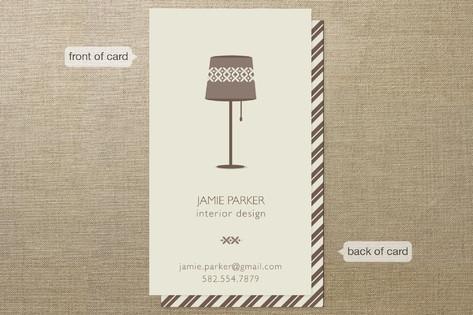 Interior Elegance Business Cards