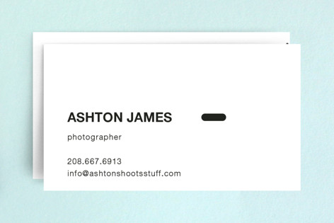 Manual Business Cards