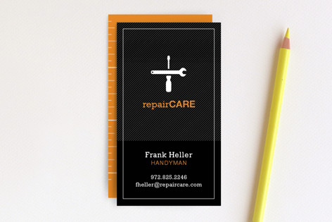 No Job Too Small Business Cards