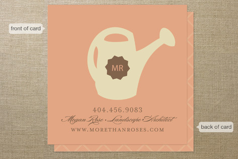 Not Just Roses Business Cards