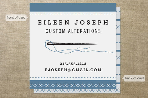 stitches Business Cards