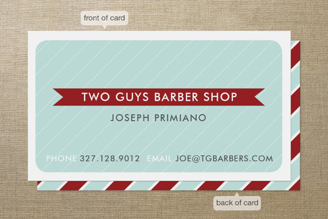 Hey Barber Business Cards