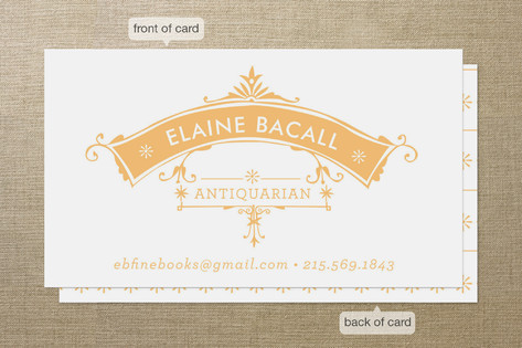 Antique Frame Business Cards