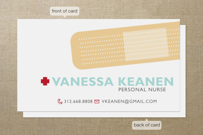 Personal business cards for nurses gallery card design and card personal business cards for nurses colourmoves Choice Image