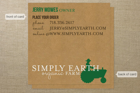 buy organic business cards - Buy Business Cards