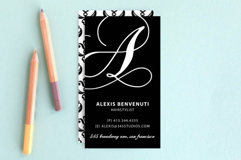 Initial Love Business Cards