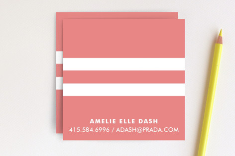 Pique chic business cards by waui design minted pique chic business cards colourmoves