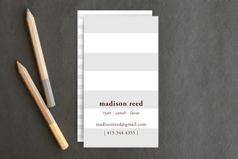 Real simple business cards by simplete design minted real simple business cards colourmoves