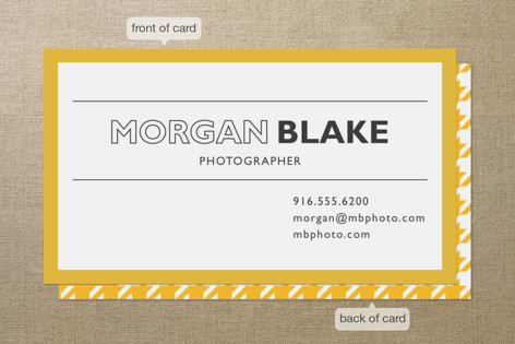 College Student Business Card Ideas