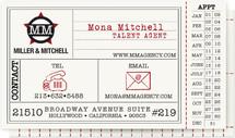 Vintage Hollywood Ticket