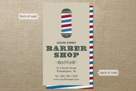 Time for a Trim Business Cards