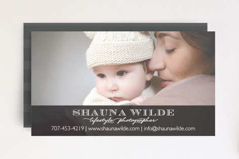 Shauna Stripe Business Cards