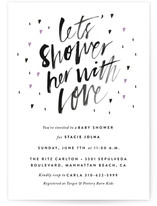 Shower her with love