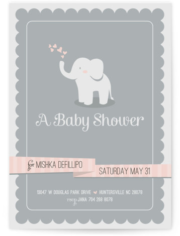 Twin baby shower invitations minted baby elephant filmwisefo