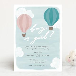 Buoyant Baby Shower Invitations